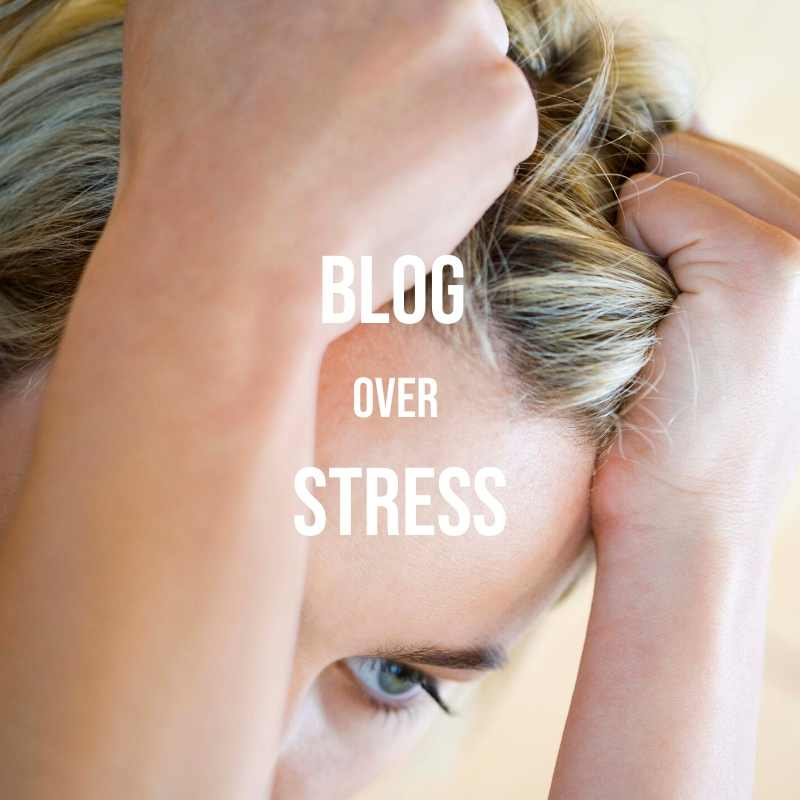 blog over stress
